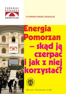 Energia Pomorzan – skąd ją czerpać i jak z niej korzystać?