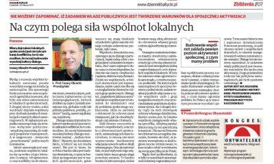C. Obracht-Prondzyński, Dziennik Bałtycki