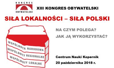 baner XIII Kongresu Obywatelskiego