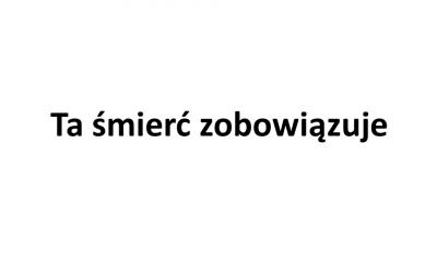 pamięci Prezydenta Pawła Adamowicza