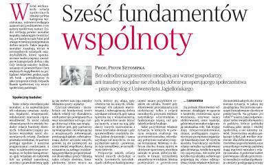 prof. Piotr Sztompka