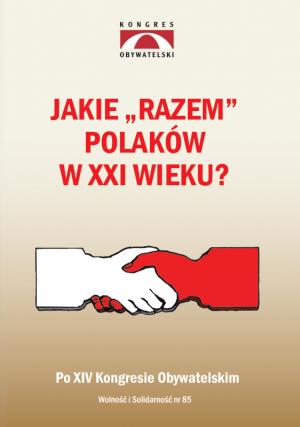 Jakie razem Polaków w XXI wieku? - okładka