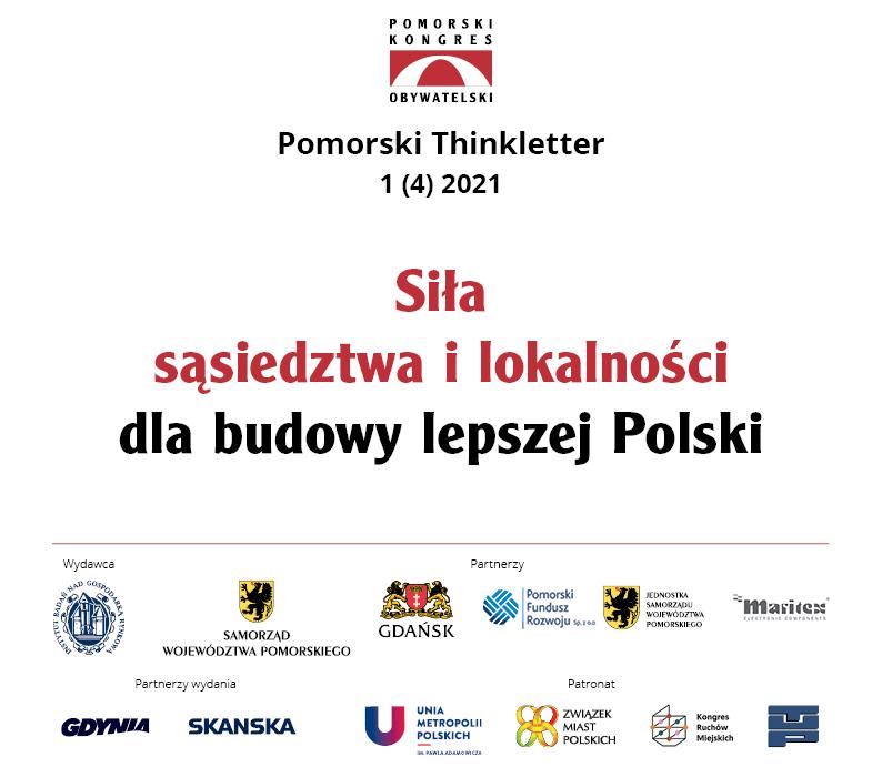 okładka Siła sąsiedztwa ilokalności dla budowy lepszej Polski