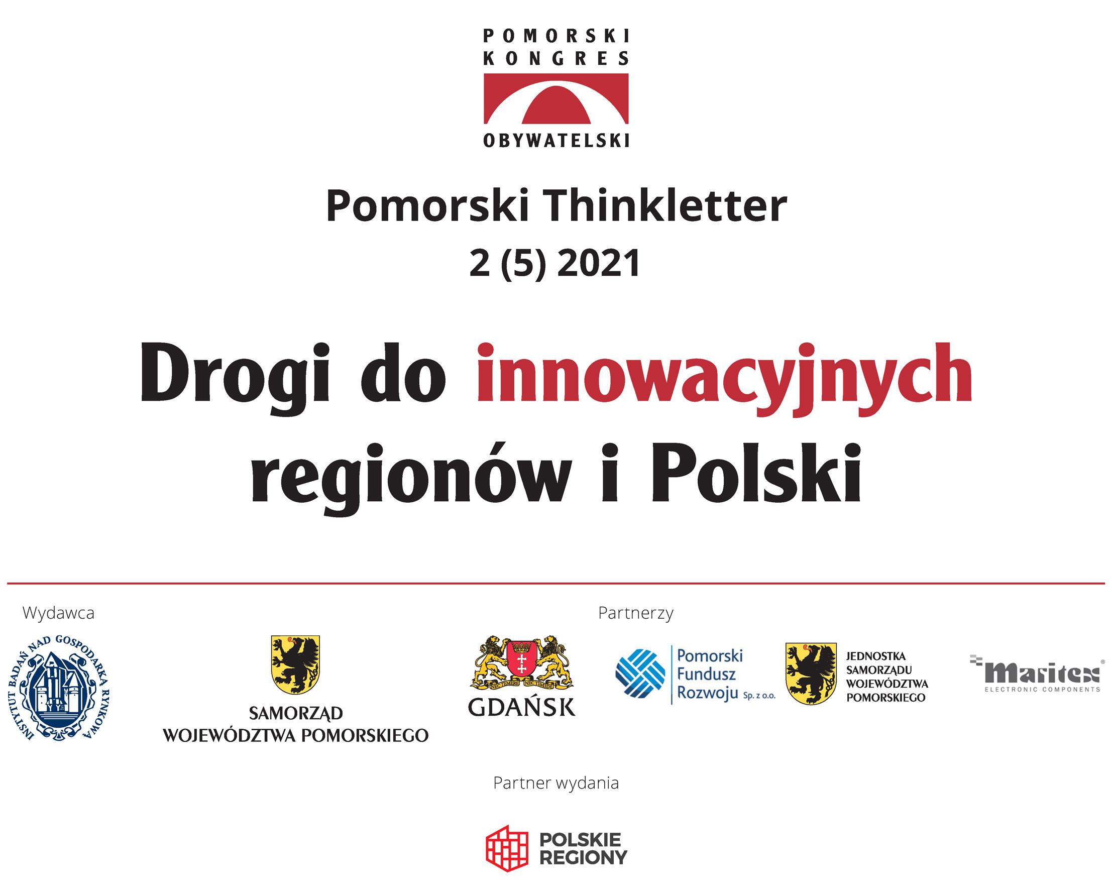 """okładka """"Drogi doinnowacyjnych regionów iPolski"""""""